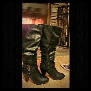 Rampage Elleani Black Boot